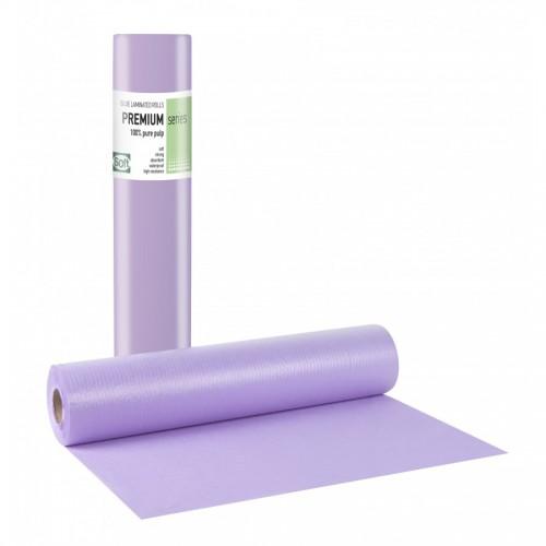 PREMIUM STANDARD Πλαστικό + Χαρτί Μωβ - 58cmx50m (12 TEMAXIA)