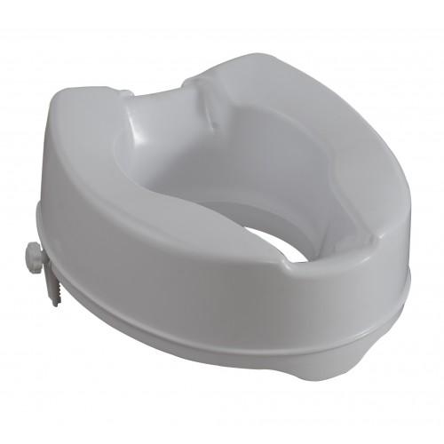 Ανυψωτικό κάθισμα τουαλέτας 15cm με σφιγκτήρες